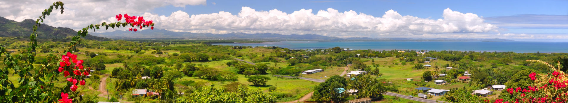 Redseason - Holidays - Panorama Of The Fijian West Coast